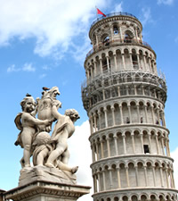 Pisa, No solo una torre inclinada
