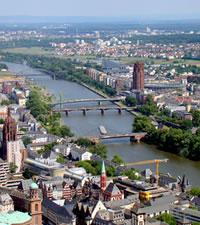 Frankfurt, la ciudad alemana de los los rascacielos