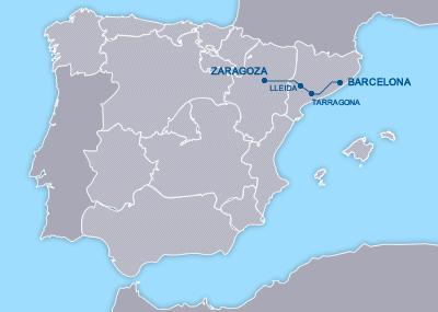 AVE Barcelona Zaragoza