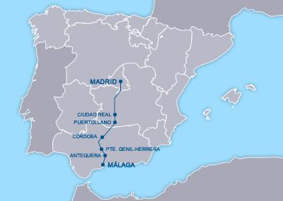 AVE Madrid Málaga