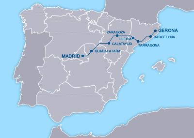 Ave Madrid Girona