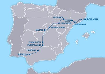 AVE Sevilla Barcelona