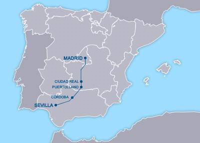 AVE Sevilla Madrid