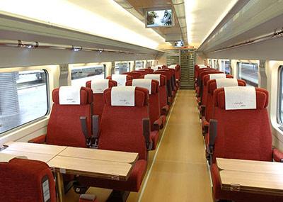 Billetes de tren renfe y ave ofertas de trenes por 35 for Ave hotel barcelona madrid
