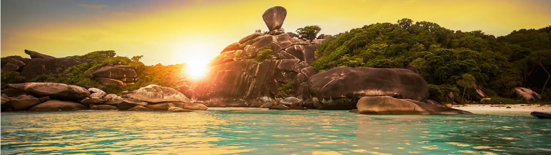 Norte de Tailandia y Phuket Al Completo en avión