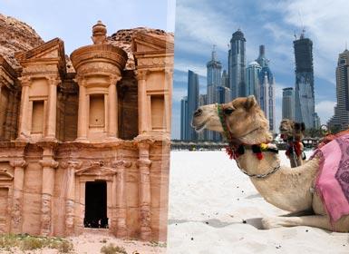 Jordania y Dubai