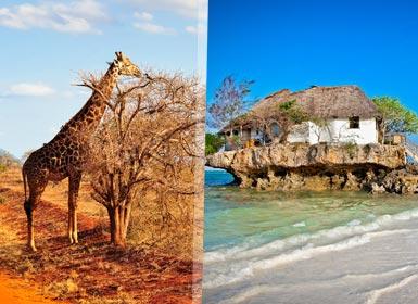 Memorias de Kenia con Isla Mauricio