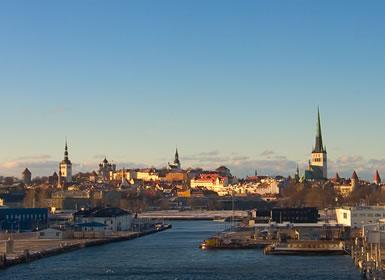 Capitales B�lticas: Especial Puente Diciembre Tall�n Mercadillos de Navidad
