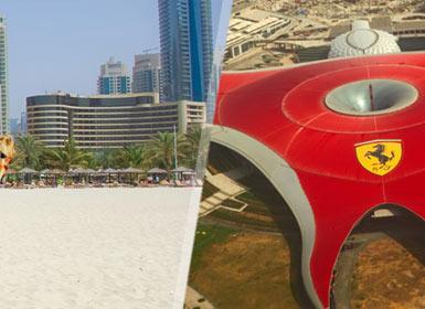 Emiratos �rabes: Abu Dabi con Ferrari World y Dubai Esencial