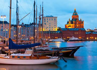 Copenhague, Estocolmo y Helsinki Al Completo