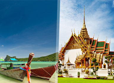 Tailandia: Combinado Esencial Bangkok y Playas