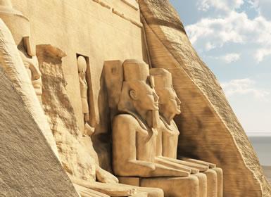 Egipto Fara�nico con Abu Simbel