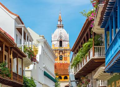Colombia: Cartagena de Indias, Colonial y Caribe