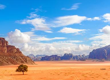 Jordania: Desierto de Wadi Rum