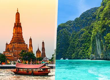 Tailandia: Bangkok y Phuket Esencial