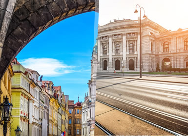 Praga, Budapest y Viena Al Completo