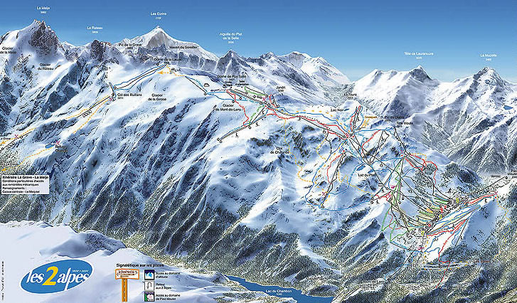 viajes esqui los alpes: