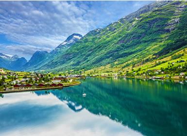 Escandinavia y Fiordos Noruegos Al Completo desde Bergen