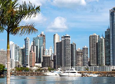 Panamá y Guatemala: Ciudad de Panamá y Guatemala