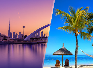 Emiratos e Islas del Índico: Dubái y Mauricio