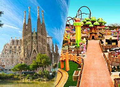 España: Barcelona y Port Aventura