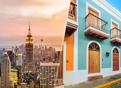 EEUU y Puerto Rico: Nueva York y San Juan