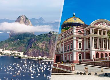 Brasil: Río de Janeiro y Manaos