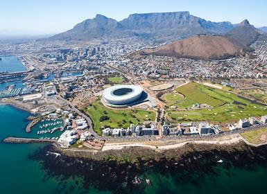 Sudáfrica e Islas del Índico: Sudáfrica y Mauricio