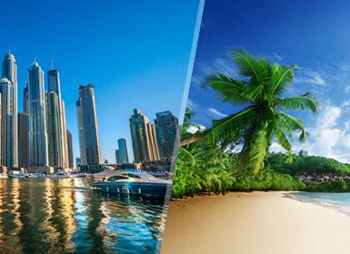 Emiratos e Islas del Índico: Dubái y Seychelles
