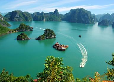 Vietnam: Hanoi, Halong, Hoi An, Hue y Ho Chi Minh