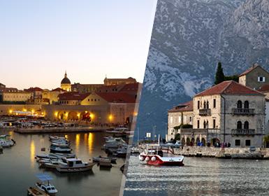Adriático: Croacia y Montenegro