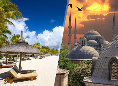 Turquía e Islas del Índico: Estambul y Mauricio