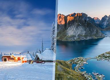Norte de Europa: Laponia e Islas Lofoten