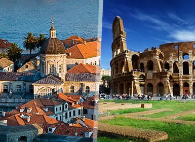Adriático: Costa Croata, Eslovenia e Italia
