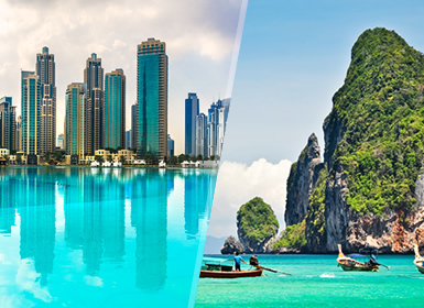 Emiratos y Tailandia: Dubái y Phuket