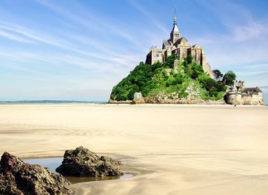 Francia: París, Baja Normandía y Valle del Loira