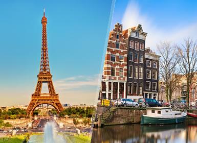 París y Países Bajos Al Completo