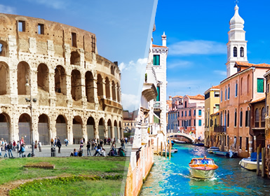 Italia: Roma, Florencia con Museo Ferrari, Venecia y Milán
