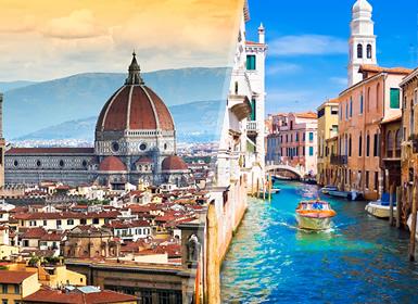Italia: Florencia y Venecia en tren
