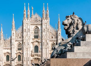 Italia: Venecia, Roma y Milán en avión
