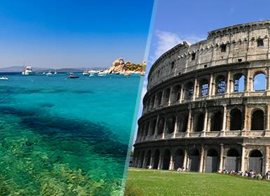 Sur de Europa: Roma, Florencia, Córcega y Cerdeña