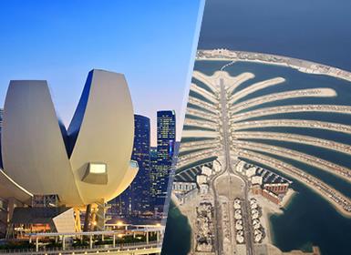 Emiratos y Singapur: Dubái y Singapur