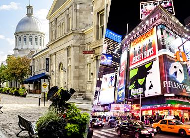 EEUU y Canadá: Nueva York y Montreal