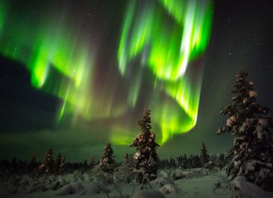 Finlandia: ESPECIAL PUENTE DE DICIEMBRE Laponia SAARISELKÄ