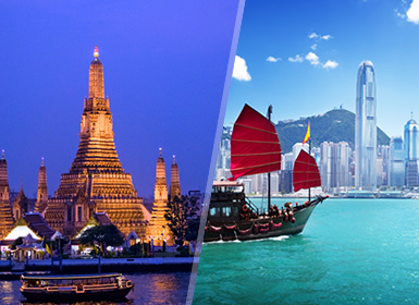 Tailandia y China: Bangkok y Hong Kong