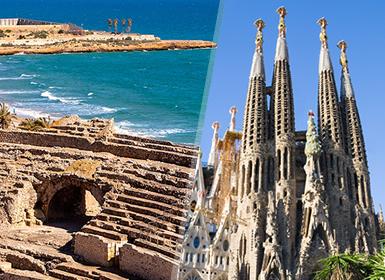 Sur de Europa: Tarragona, Gerona, Barcelona con Sagrada Familia y Sur de Francia