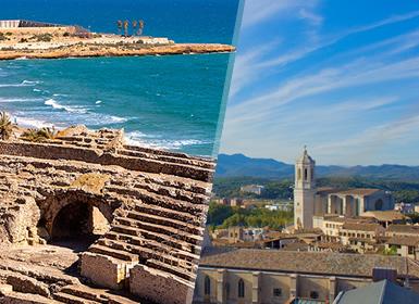 Sur de Europa: Tarragona, Gerona, Barcelona con Barrio Gótico y Sur de Francia