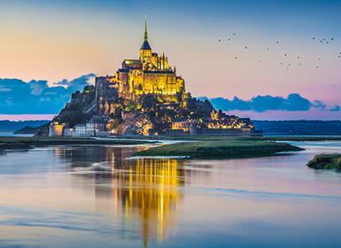 Francia: París, Castillos del Loira, Bretaña y Normandía