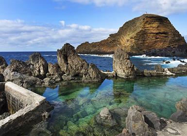 Portugal: Funchal, Zona Norte y Puerto Moniz