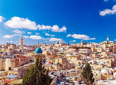 Israel y Jordania: De Tel Aviv a Jerusalén con Jordania